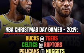 Objavljen raspored za Christmas Day, Bitka za Los Angeles u prime timeu